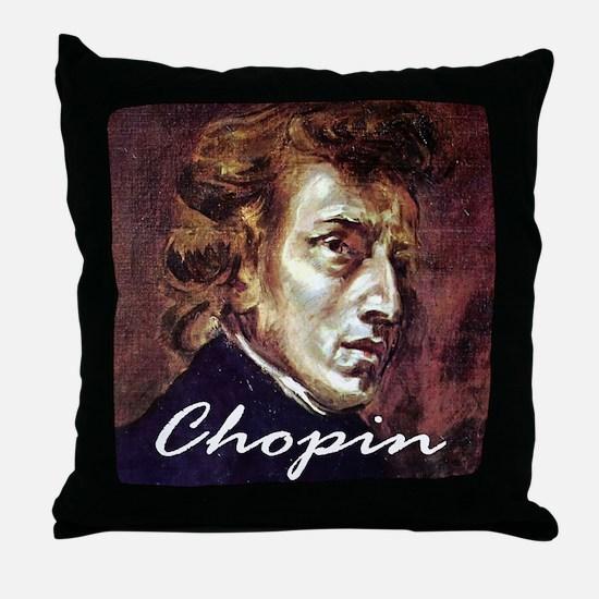 Chopin Throw Pillow