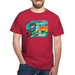 Mayan Glyph or Mexican Wrestler T-shirt