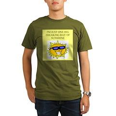 sunshine gifts and t-shirts Organic Men's T-Shirt