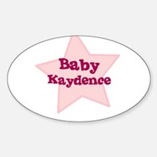 Baby Kaydence Oval Decal
