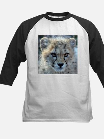 Cheetah Cub Kids Baseball Jersey