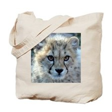 Cheetah Cub Tote Bag