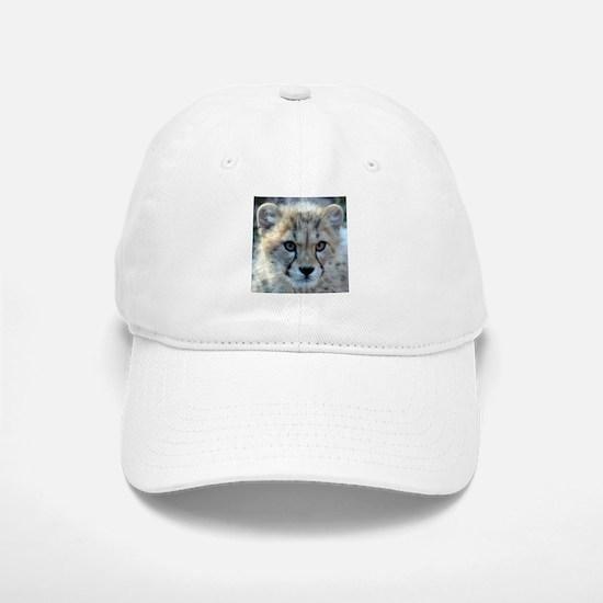 Cheetah Cub Baseball Baseball Cap