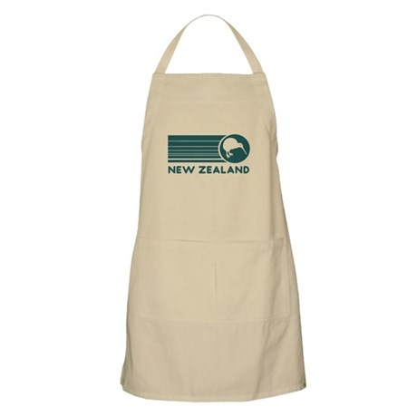 New Zealand Kiwi Stripes BBQ Apron