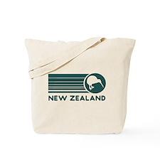 New Zealand Kiwi Stripes Tote Bag