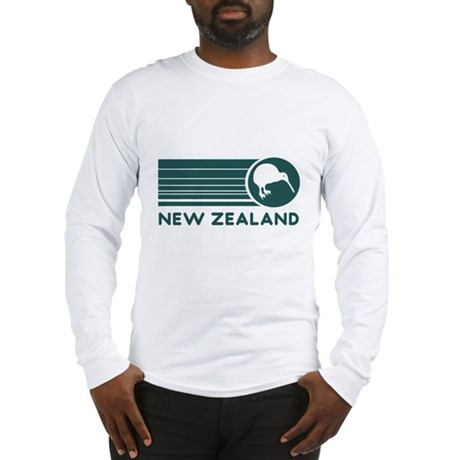 New Zealand Kiwi Stripes Long Sleeve T-Shirt