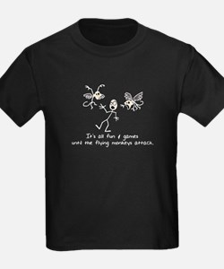 Funny Flying monkeys T