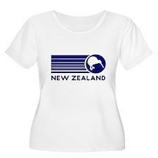 Blue New Zealand Kiwi T-Shirt