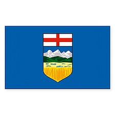 Alberta Canada Flag Rectangle Decal