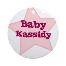 Baby Kassidy Ornament (Round)
