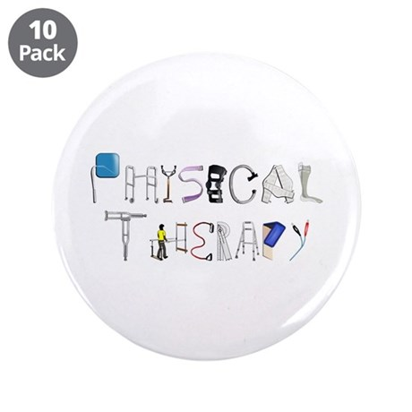 """PT at Work 3.5"""" Button (10 pack)"""