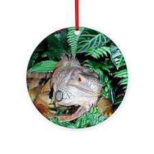 Iguana Ornament (Round)
