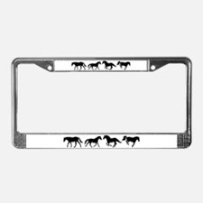 Unique Bucking horse License Plate Frame