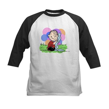 Happy Linus Kids Baseball Jersey