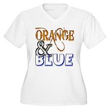 Orange and Blue Florida Gator T-Shirt