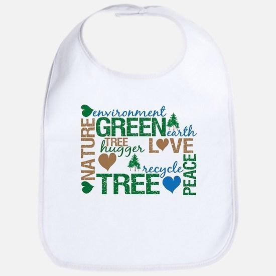 Live Green Montage Bib
