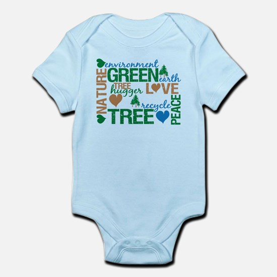 Live Green Montage Infant Bodysuit