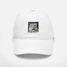 Snow Leopards Baseball Baseball Cap