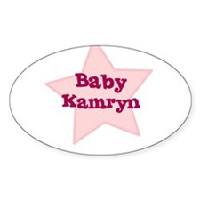 Baby Kamryn Oval Decal