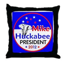Huckabee 2012 Throw Pillow