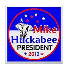 Huckabee 2012 Tile Coaster