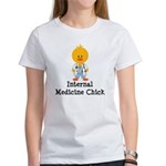 Internal Medicine Chick Women's T-Shirt
