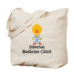 Internal Medicine Chick Tote Bag