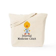 Internal Medicine Chick Tote Bag