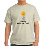 Internal Medicine Chick Light T-Shirt