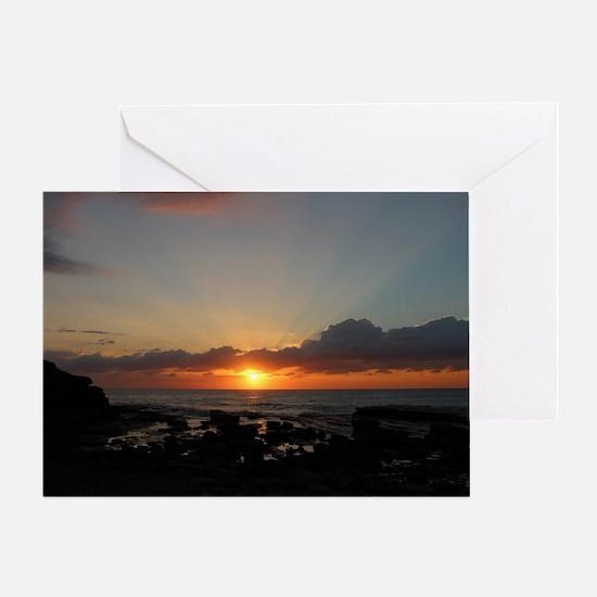Terrigal Beach Australia Sunrise - Greeting Cards