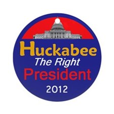 Huckabee 2012 Ornament (Round)