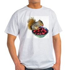 Squirrel with Cranberries T-Shirt