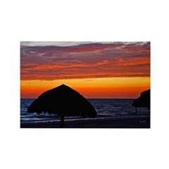 Beach Glow Fading Rectangle Magnet (10 pack)