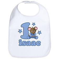 Isaac 1st Birthday Bib