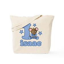 Isaac 1st Birthday Tote Bag