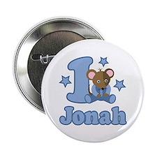 "1st Birthday Jonah 2.25"" Button"