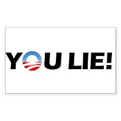 You Lie! Rectangle Sticker 10 pk)