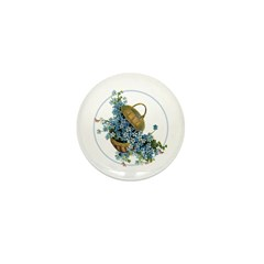 Forget-Me-Nots Mini Button (100 pack)