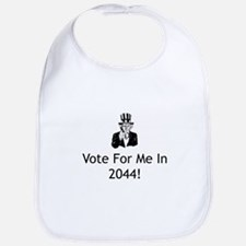 Vote For Me In 2044 Bib