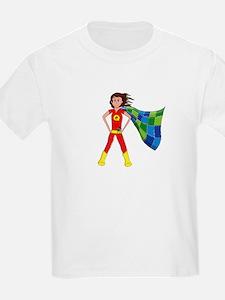 Quilterhero - Brunette T-Shirt