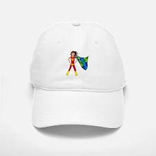 Quilterhero - Brunette Baseball Baseball Cap