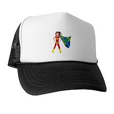 Quilterhero - Brunette Trucker Hat