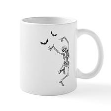 Dancing with the bats -skeleton Mug