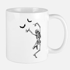 Dancing with the bats -skeleton Small Small Mug