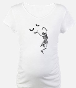 Dancing with the bats -skeleton Shirt