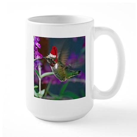 Ho Ho Ho Hummingbird Large Mug
