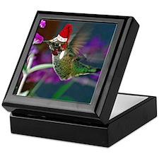 Ho Ho Ho Hummingbird Keepsake Box
