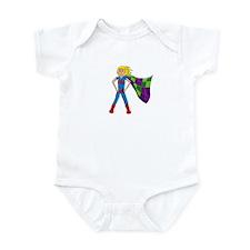 Quilterhero - Blonde Infant Bodysuit
