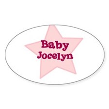 Baby Jocelyn Oval Decal