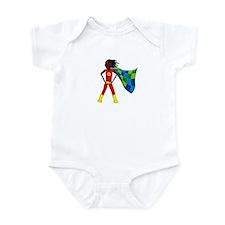 Funny Sew happy Infant Bodysuit